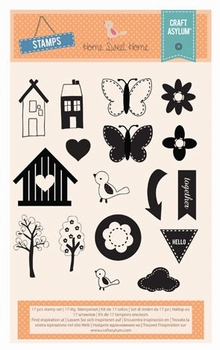 Clear stamps  Home Sweet Home