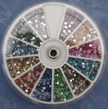 Carrousel de 1800 strass multiples coloris