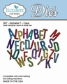 Dies Elizabeth Craft Design in metaal ALPHABET