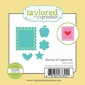Dies Taylored Expressions Little Bits Stamp Of Approval