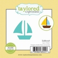 Dies Taylored Expressions Little Bits - sailboat