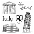 Tampons clear stamps Italie - Ciao Italia